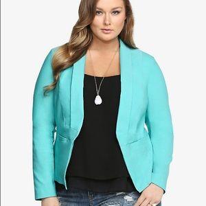 Torrid Size 0 Cut Away Blazer Business Workwear